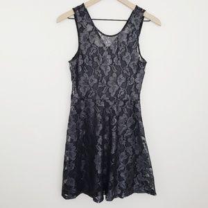 Express Black Lace Dress